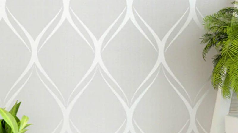 P57903WP Light Grey   上質で上品な壁紙